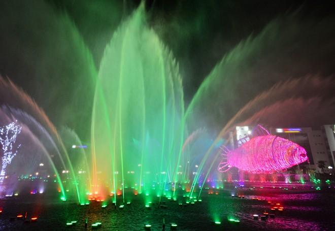 Kết quả hình ảnh cho đèn led nhạc nước