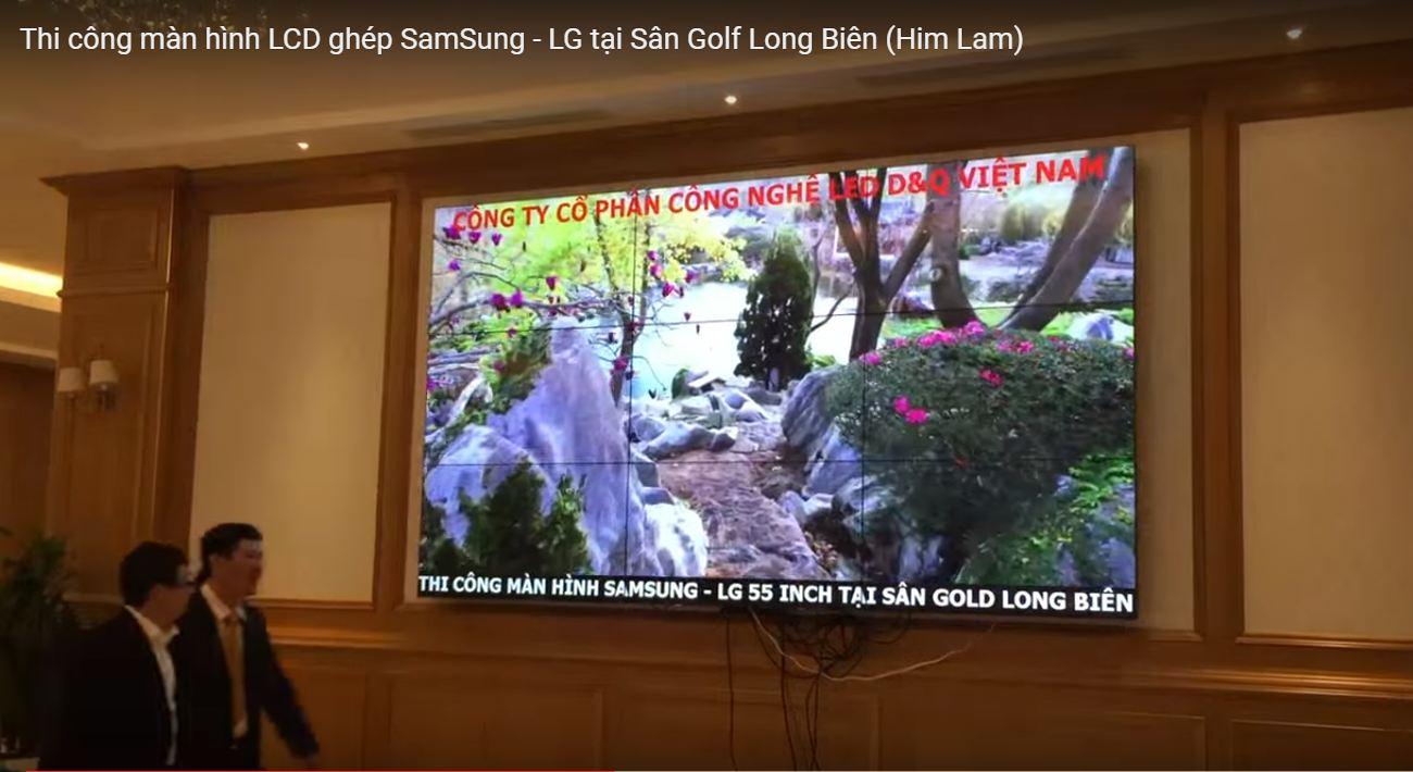 màn hình ghép LG 55 inch - công ty cổ phần công nghệ LED D&Q